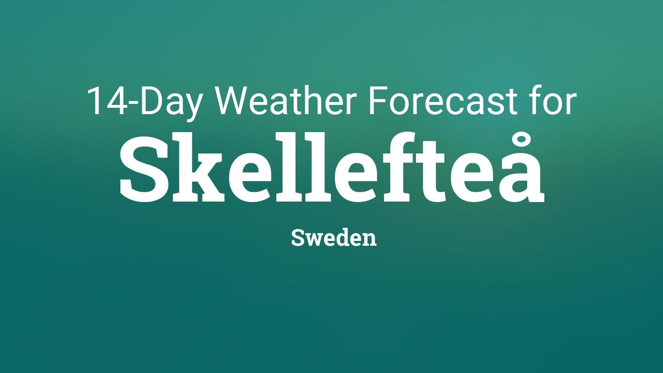 Afholte Skellefteå, Sweden 14 day weather forecast GH-67