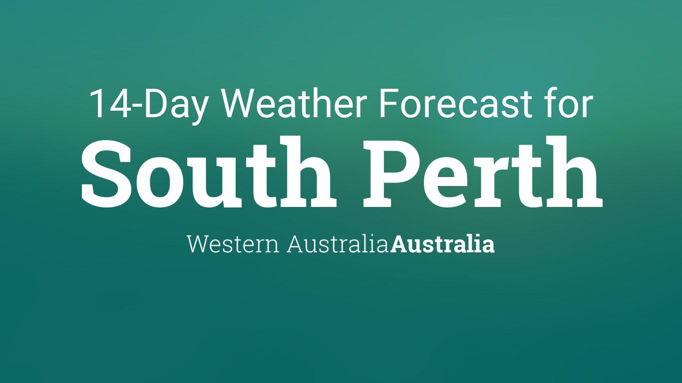South Perth, Western Australia ...