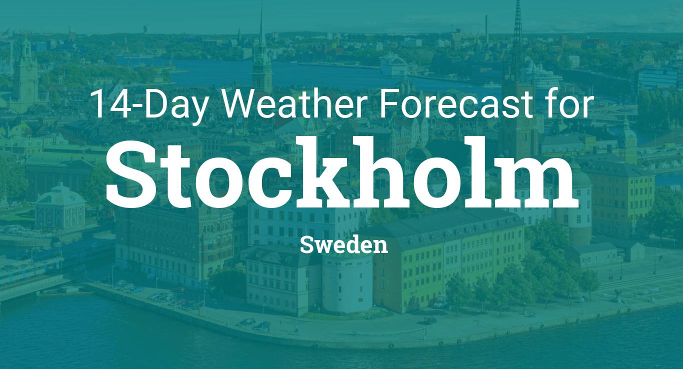 Vellidte Stockholm, Sweden 14 day weather forecast SI-03