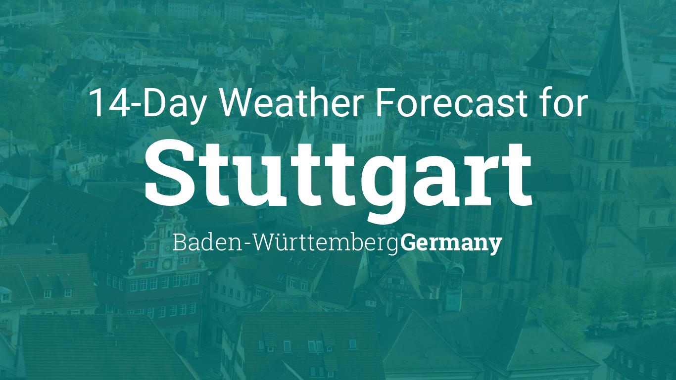 Stuttgart, Baden Württemberg, Germany 20 day weather forecast