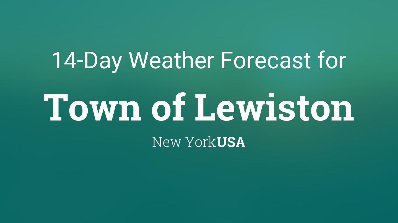 Town Of Lewiston New York Usa 14 Day Weather Forecast Lewiston weather forecastlewiston weather forecast. 14 day weather forecast