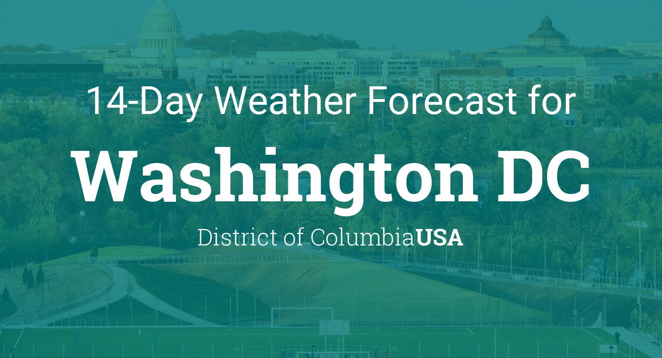 Washington DC, USA 14 day weather forecast