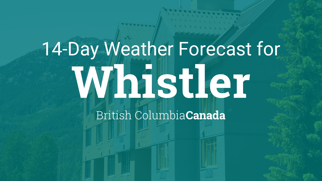 Monthly Year Calendar : Whistler british columbia canada day weather forecast