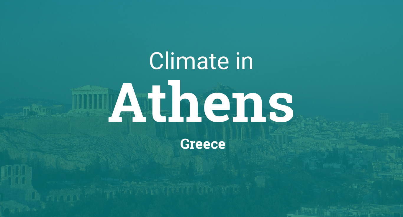 Climate Amp Weather Averages In Athens Greece