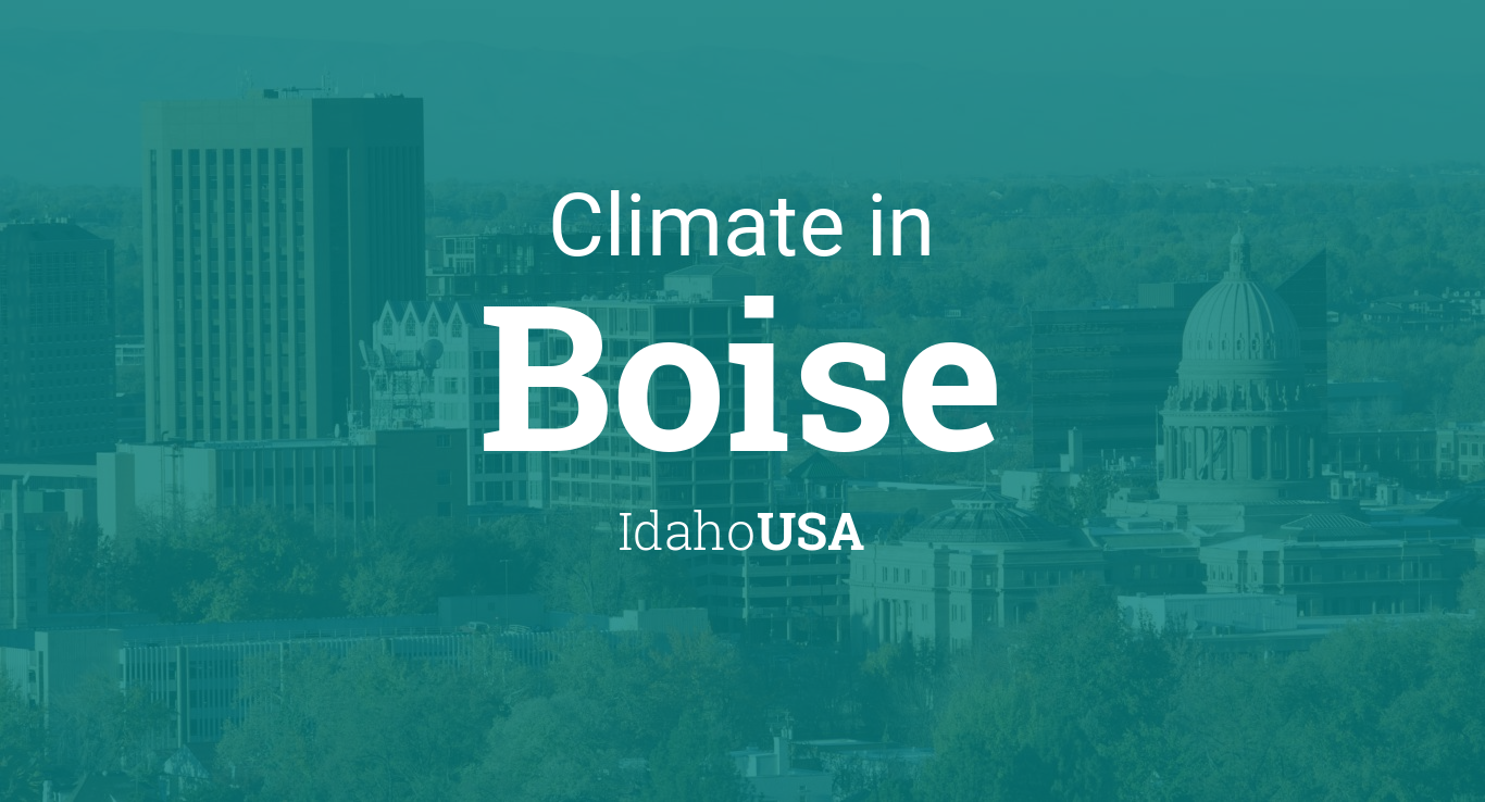 Climate & Weather Averages in Boise, Idaho, USA