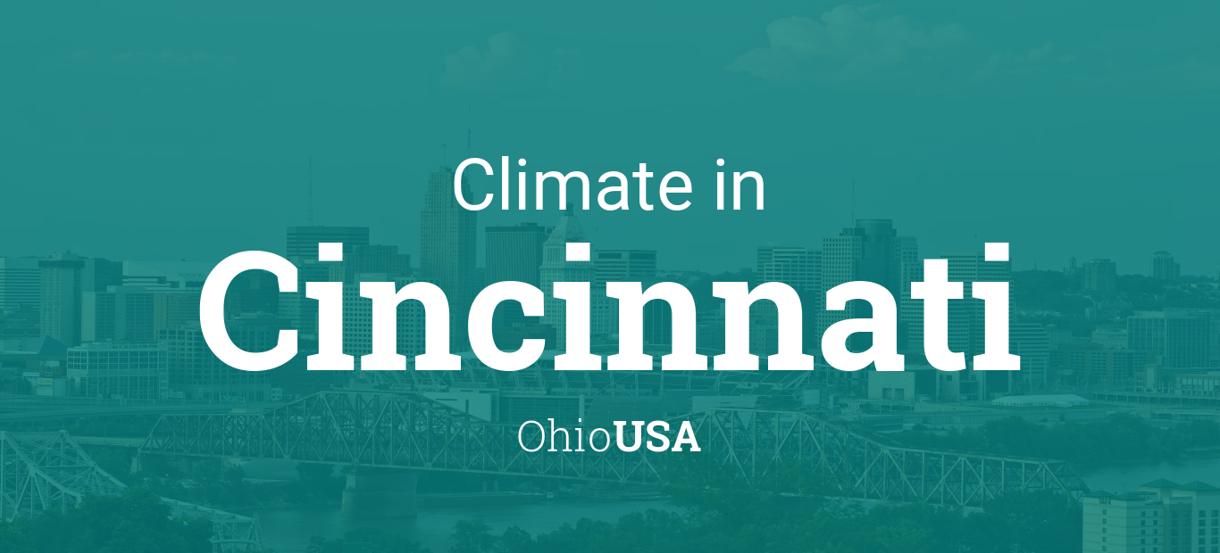 Climate Weather Averages In Cincinnati Ohio Usa