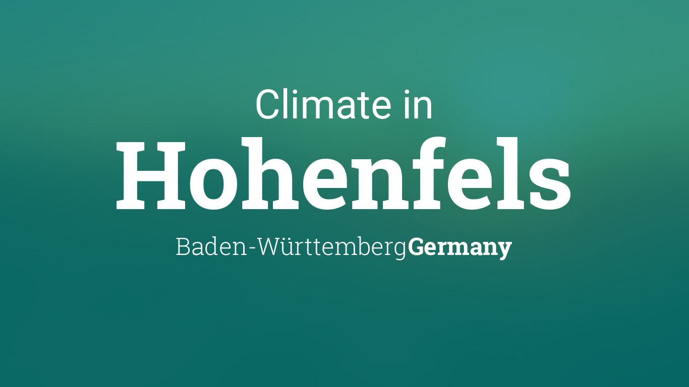 Weather For Hohenfels Germany