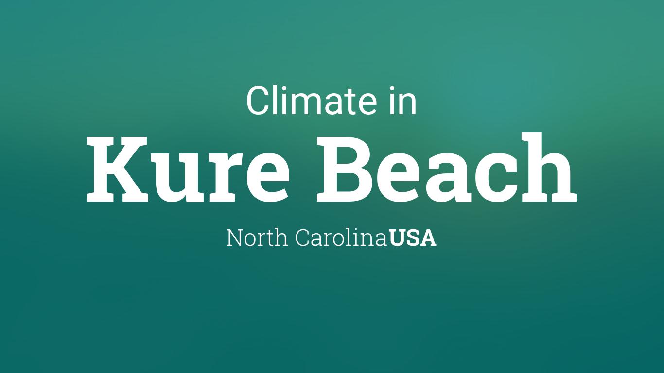 Climate & Weather Averages in Kure Beach, North Carolina, USA
