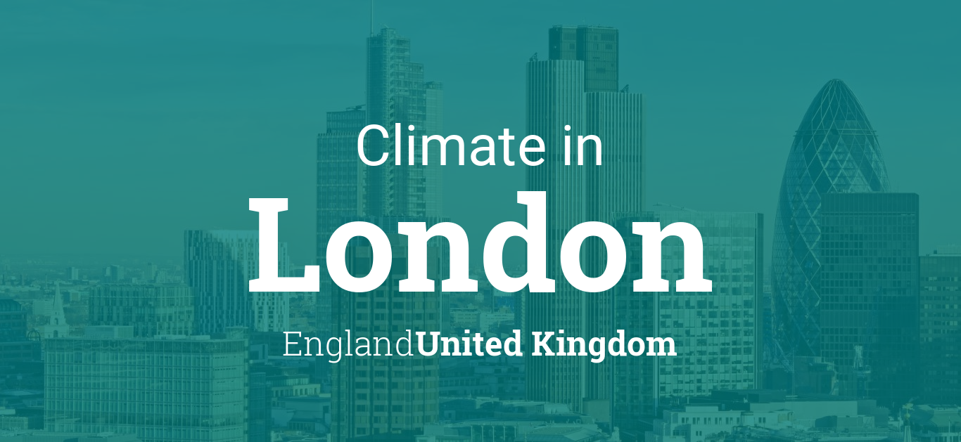 Climate Weather Averages In London England United Kingdom