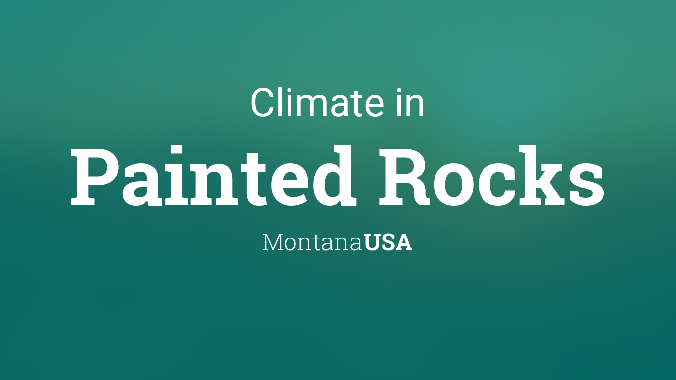 Climate & Weather Averages in Painted Rocks, Montana, USA