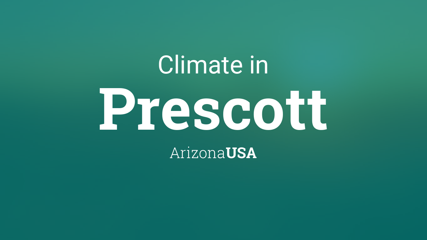 Climate Amp Weather Averages In Prescott Arizona Usa