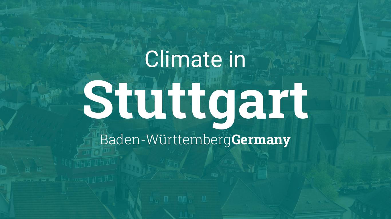 Climate & Weather Averages in Stuttgart, Baden Württemberg, Germany