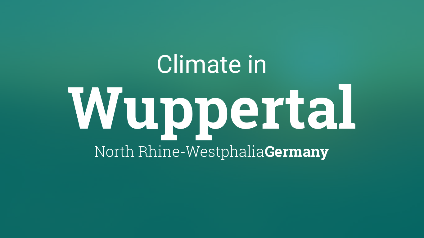 Climate & Weather Averages in Wuppertal, North Rhine ... on rome germany map, bad lippspringe germany map, plochingen germany map, trier germany map, lubbecke germany map, hellenthal germany map, kochel germany map, havixbeck germany map, lengerich germany map, goerlitz germany map, lampertheim germany map, mayence germany map, blankenheim germany map, barmen germany map, erkelenz germany map, donaueschingen germany map, landsberg am lech germany map, ochtrup germany map, colditz germany map,