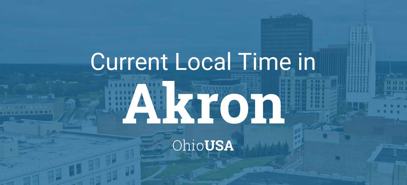 Current Local Time In Akron Ohio USA - 330 area code usa