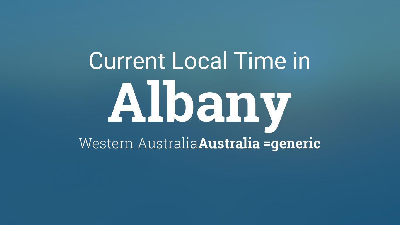 current local time in albany western australia australia. Black Bedroom Furniture Sets. Home Design Ideas