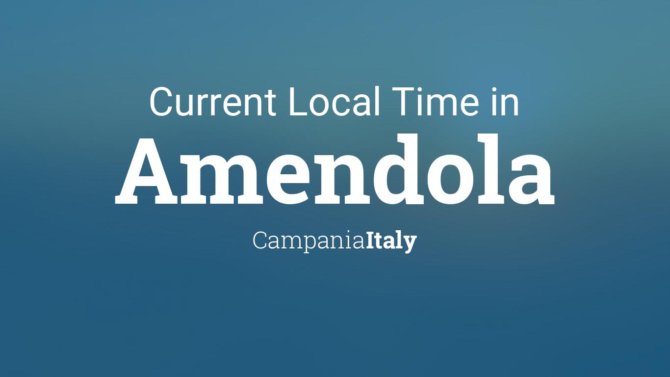 Amendola Italy Map.Current Local Time In Amendola Italy