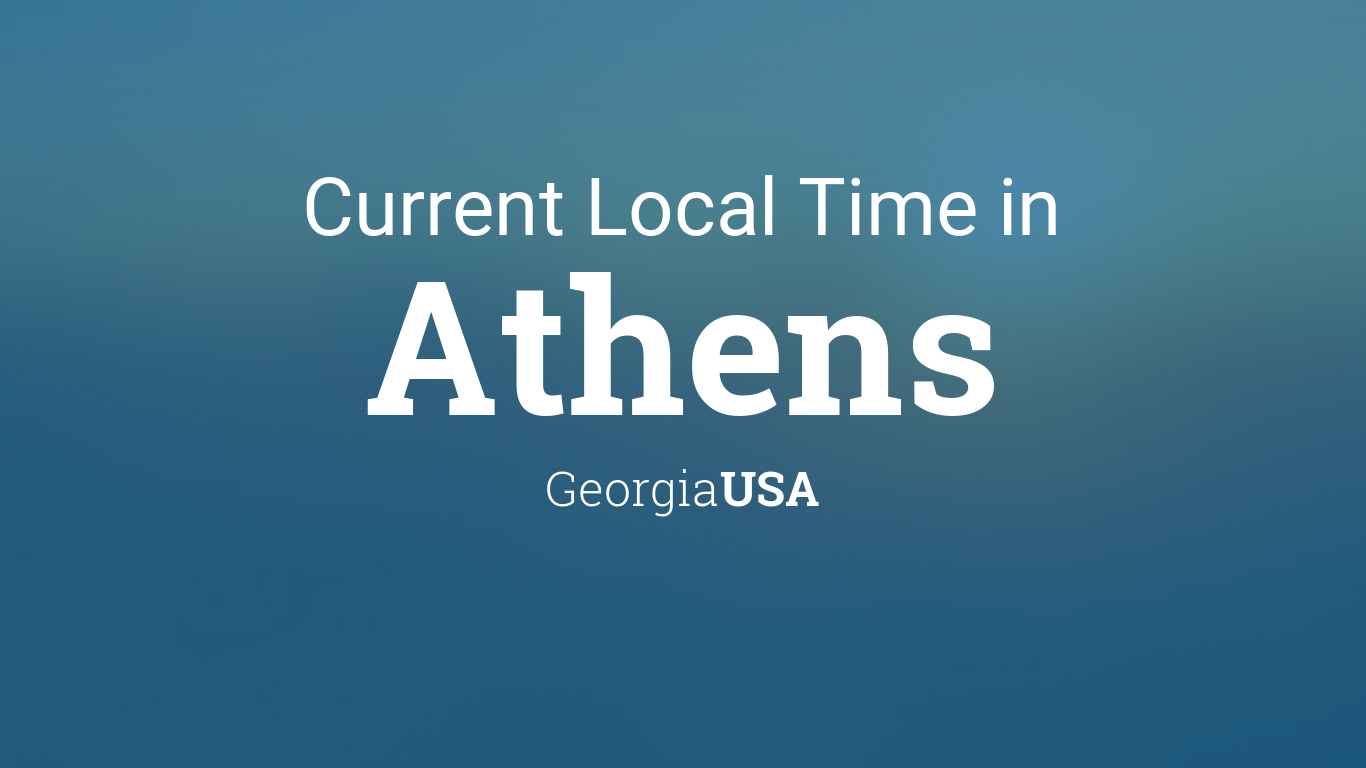 Current Local Time In Athens Georgia USA - 706 area code usa