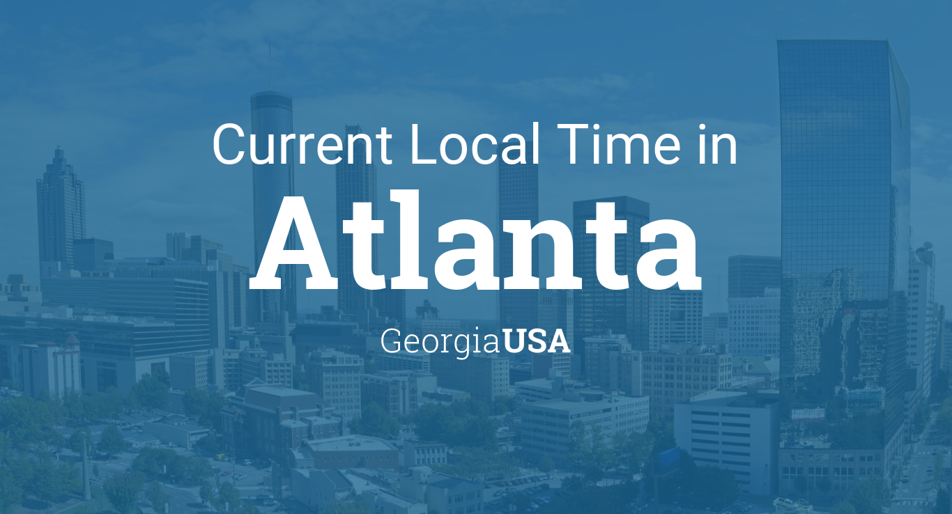 Current Local Time In Atlanta Georgia USA - 770 us area code time zone