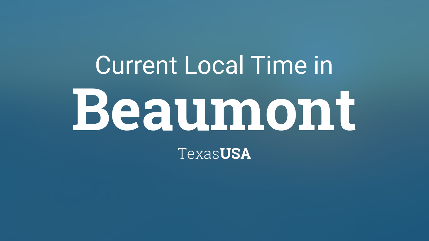 Current Time in Texas - TimeTemperature