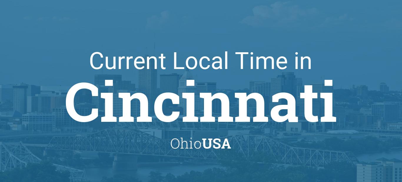 Current Local Time In Cincinnati Ohio USA - Timezone cincinnati