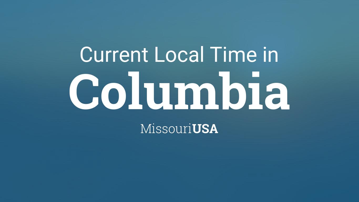 Columbia Calendar 2022.Current Local Time In Columbia Missouri Usa