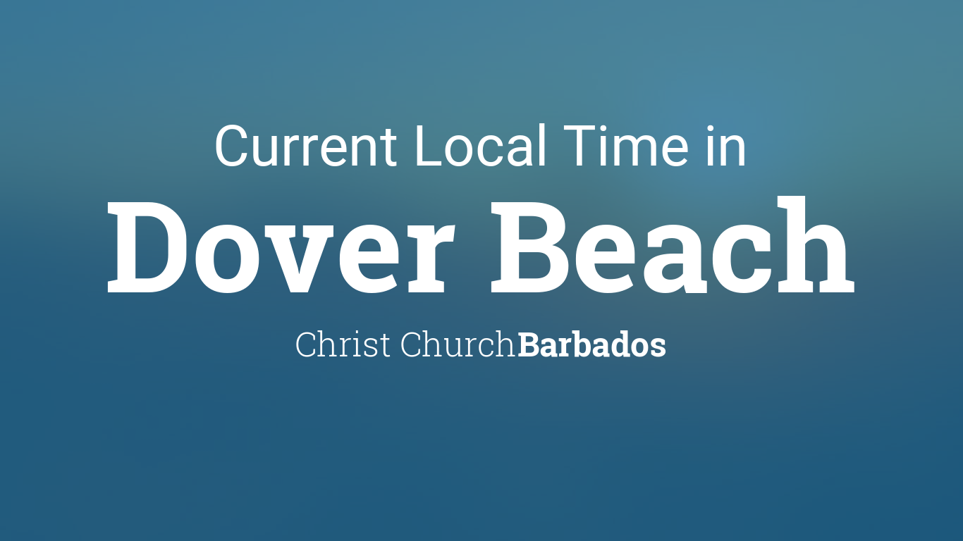 Current Local Time in Dover Beach, Barbados