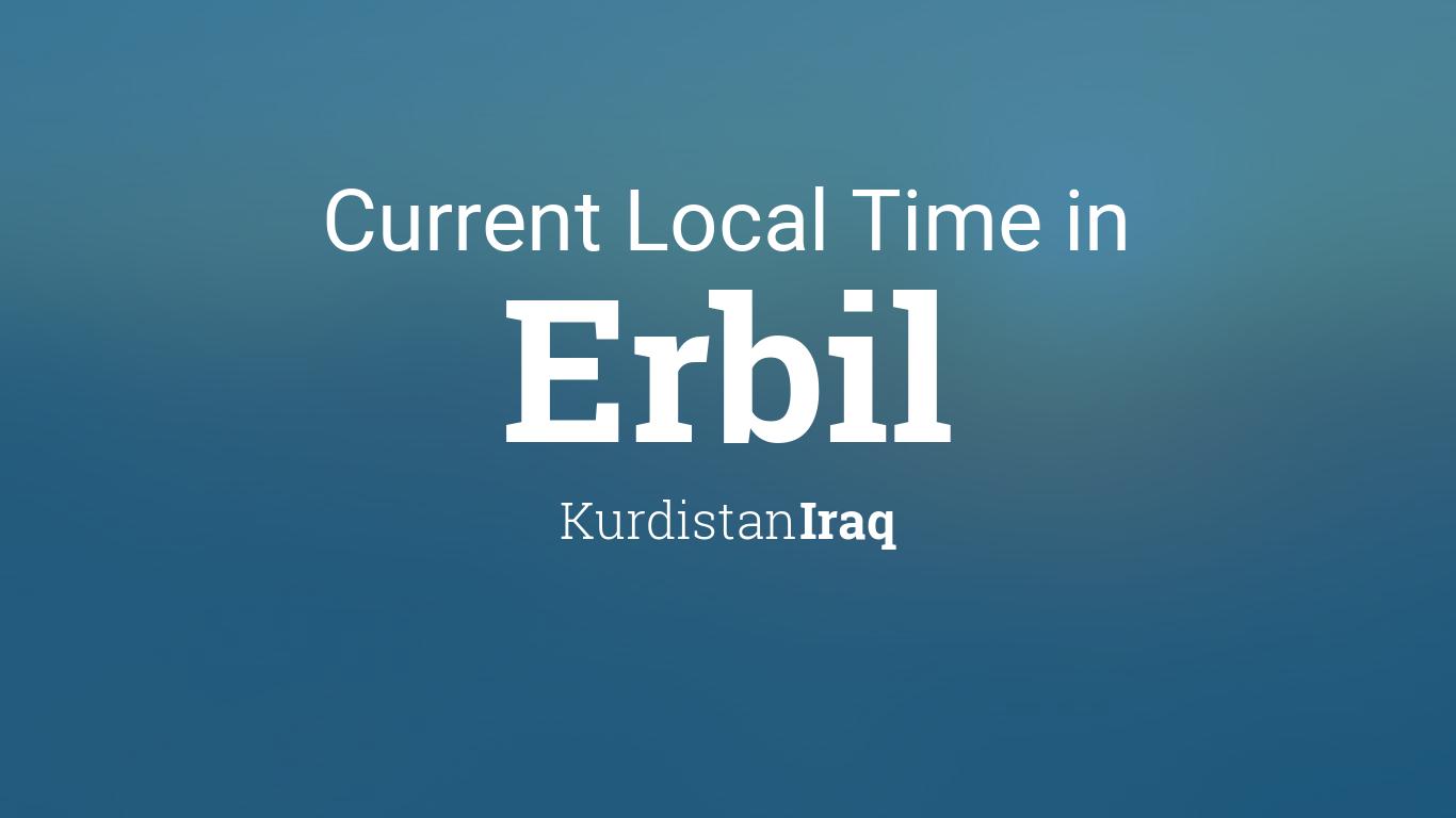 Kurdistan Karte 2019.Current Local Time In Erbil Kurdistan Iraq