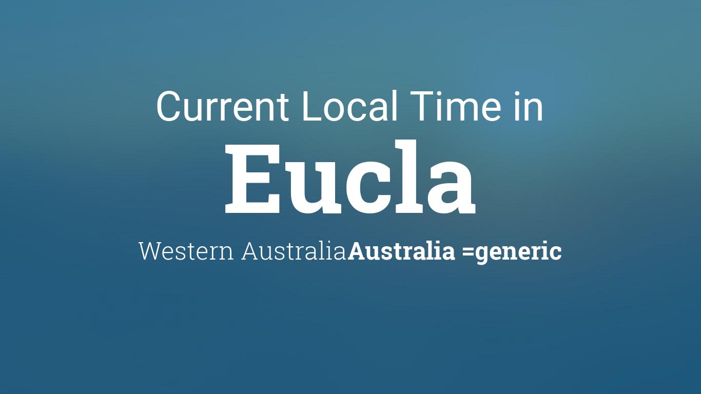 current local time in eucla western australia australia. Black Bedroom Furniture Sets. Home Design Ideas