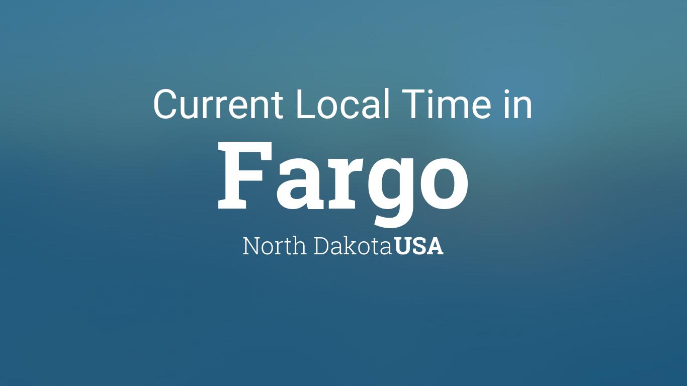 Current Local Time In Fargo North Dakota USA - Us zip code north dakota