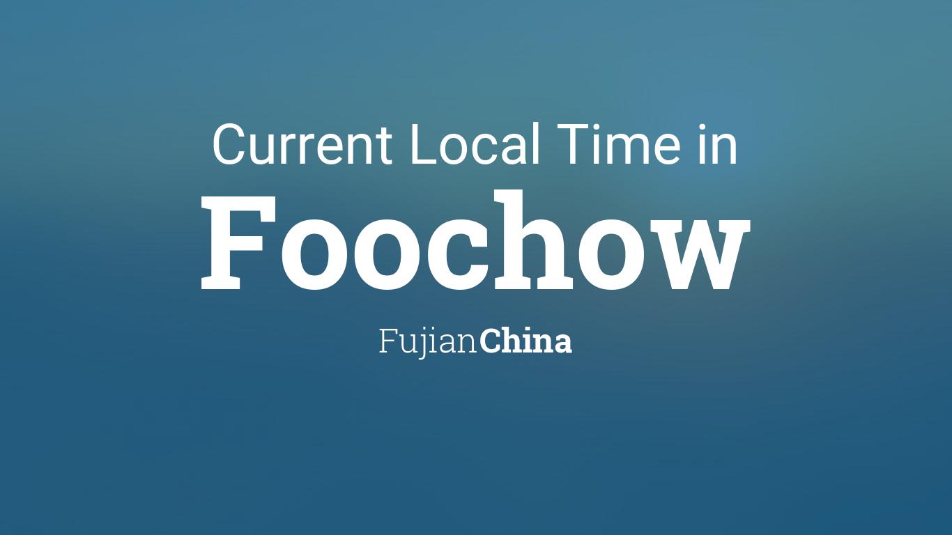 where is fuzhou