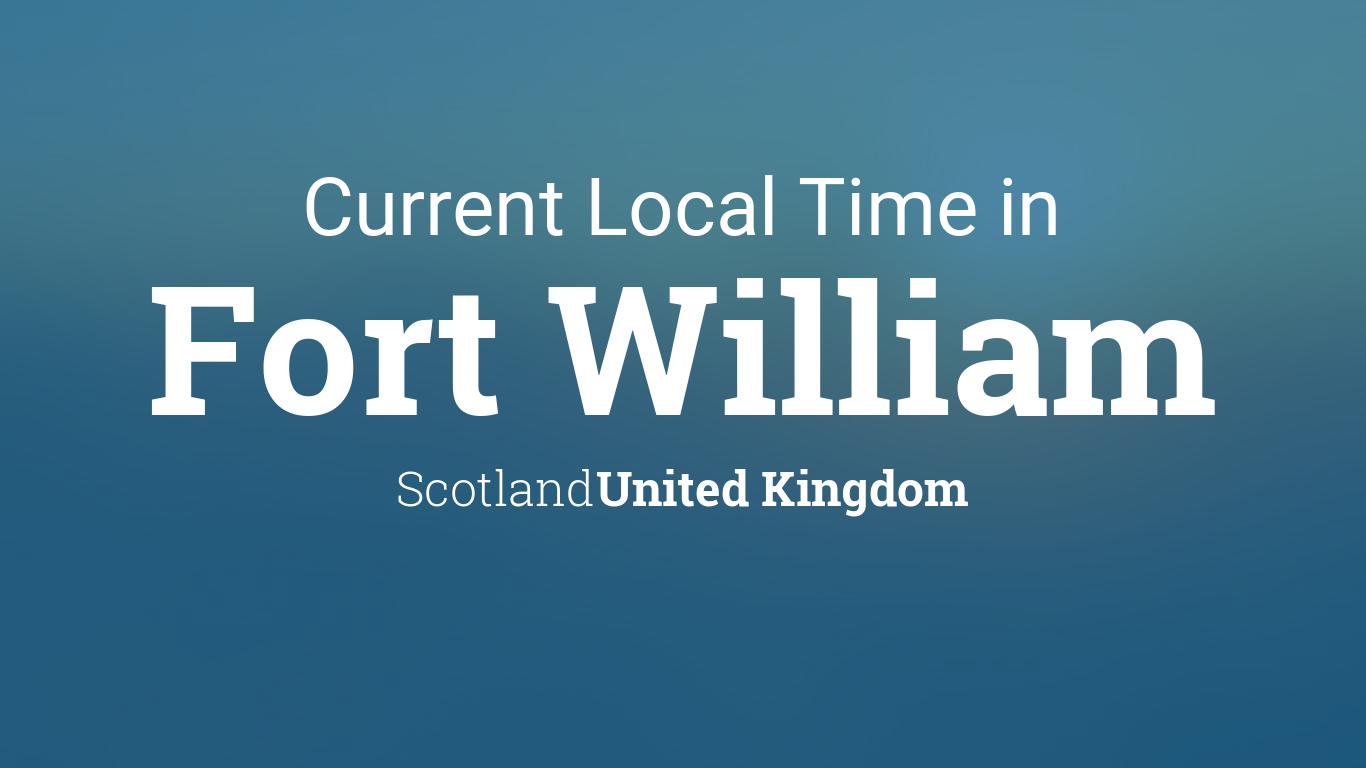 dating fort william scotland