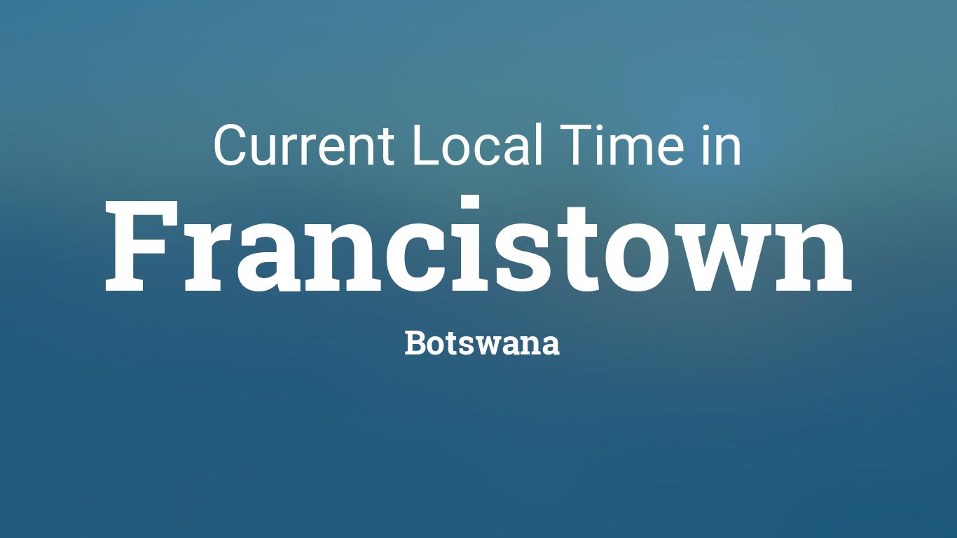 Dating botswana francistown