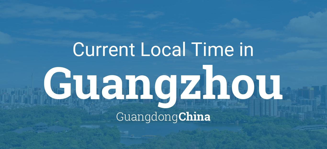 Guangzhou Ems China Map.Current Local Time In Guangzhou Guangdong China