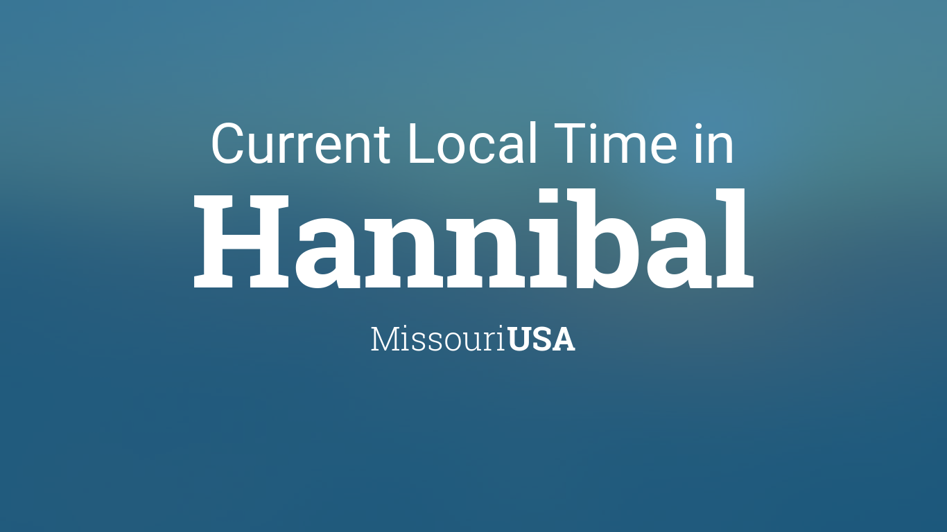 current local time in hannibal missouri usa. Black Bedroom Furniture Sets. Home Design Ideas