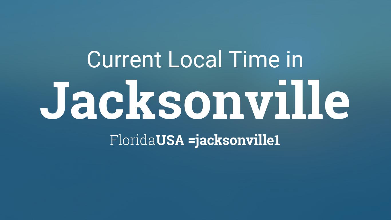 current local time in jacksonville florida usa. Black Bedroom Furniture Sets. Home Design Ideas