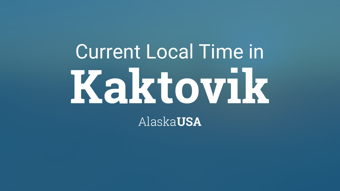 Kaktovik Alaska Map.Current Local Time In Kaktovik Alaska Usa
