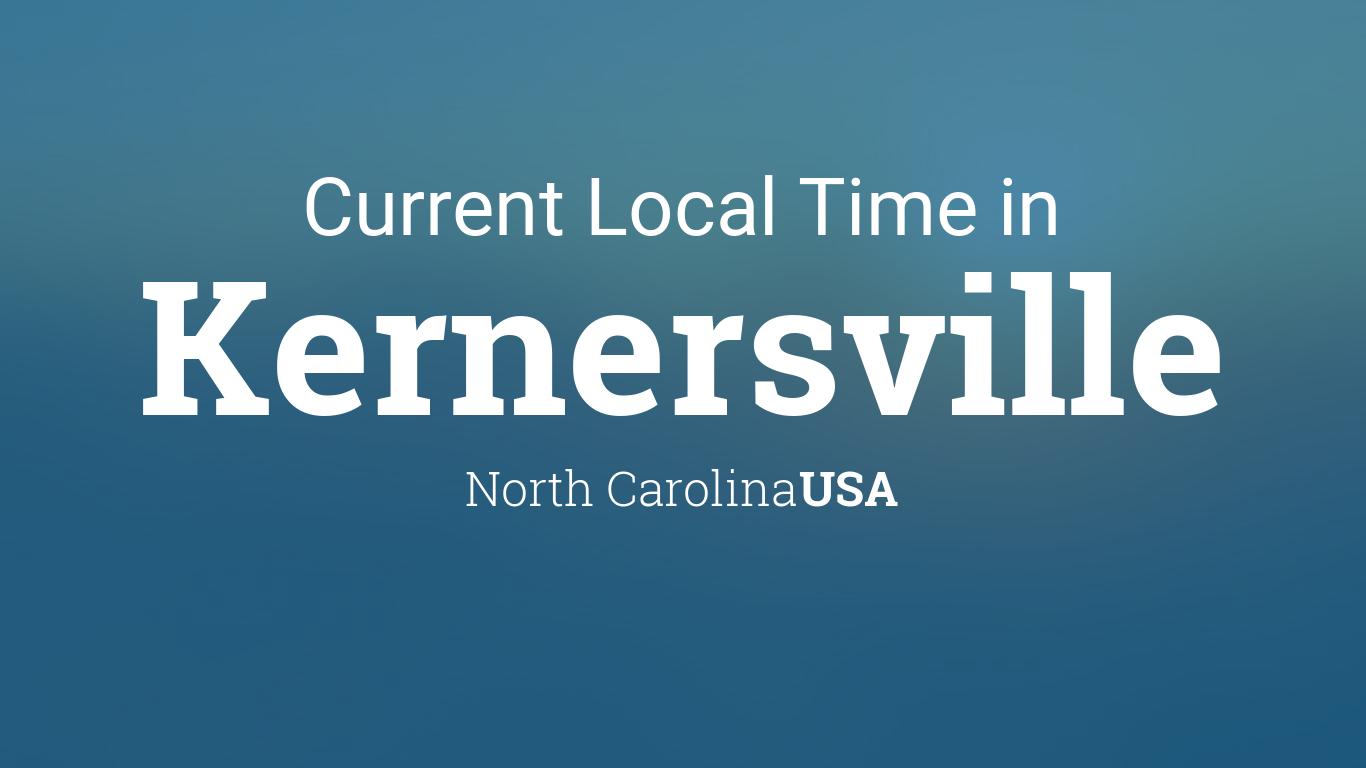 Current Local Time in Kernersville, North Carolina, USA