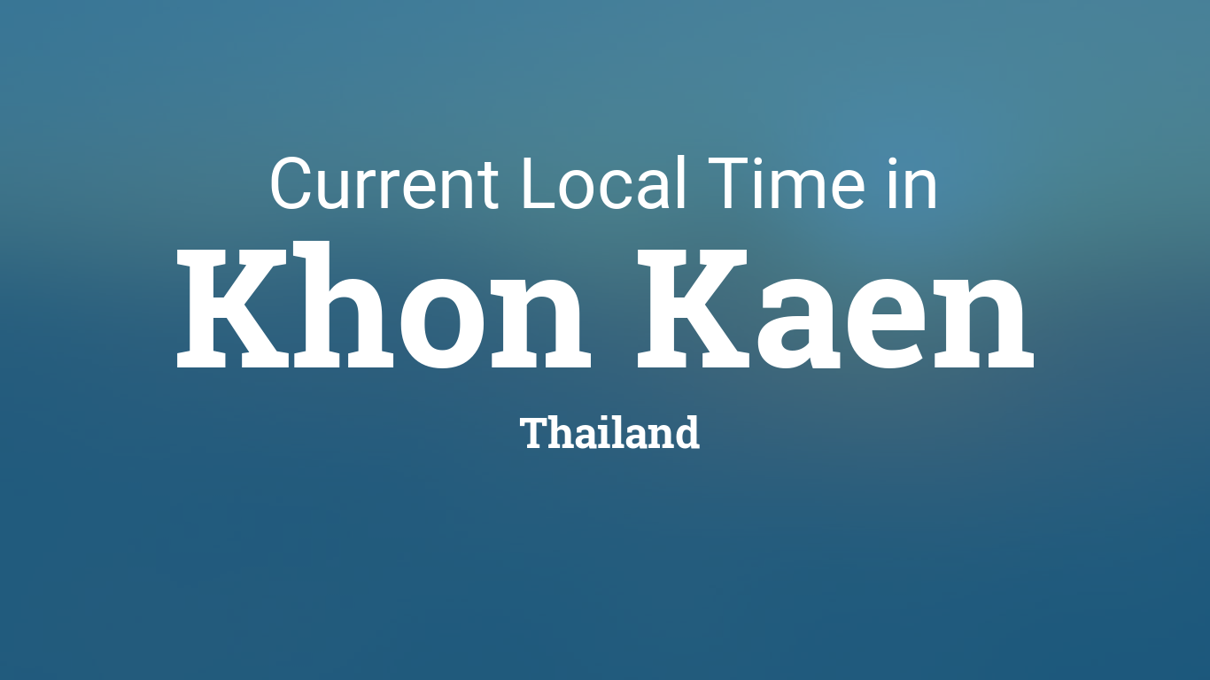 Thai current date