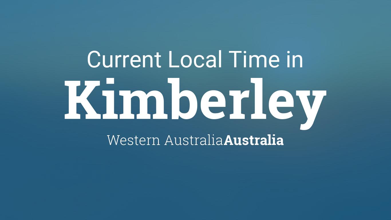current local time in kimberley western australia australia. Black Bedroom Furniture Sets. Home Design Ideas