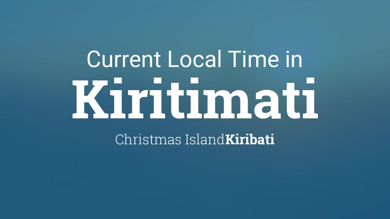 Kiritimati Island Time