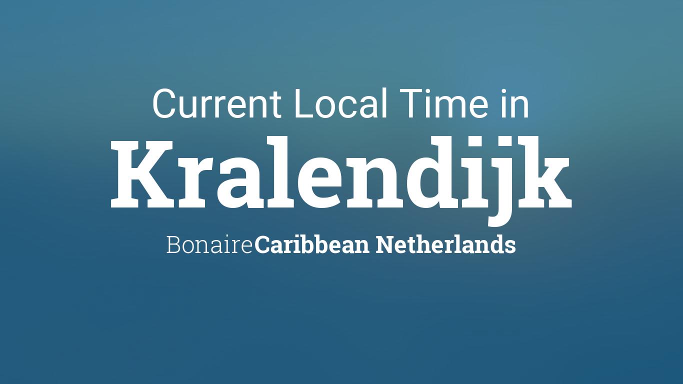 Cur Local Time In Kralendijk Bonaire Caribbean Netherlands