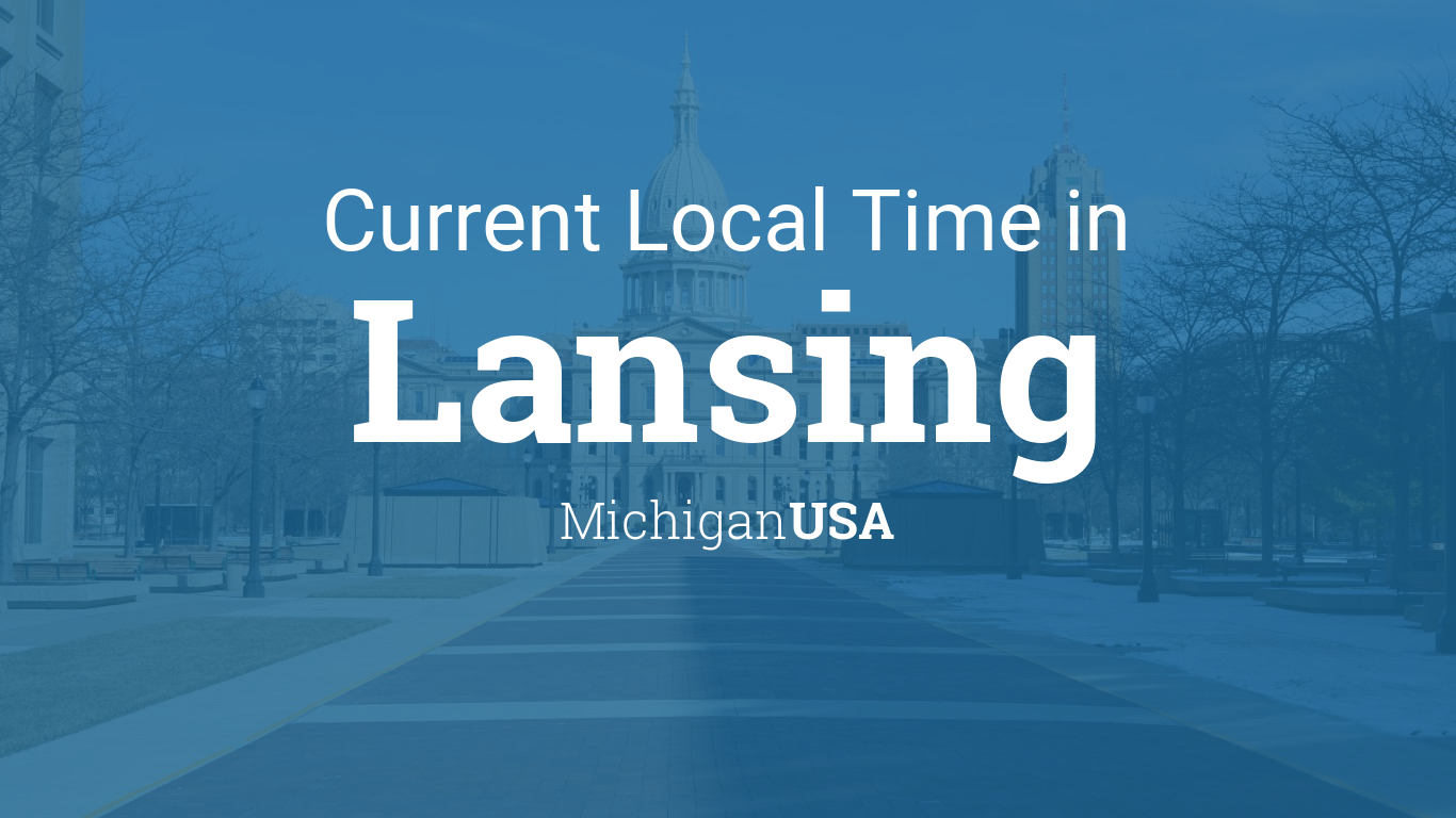 what is the time in lansing michigan