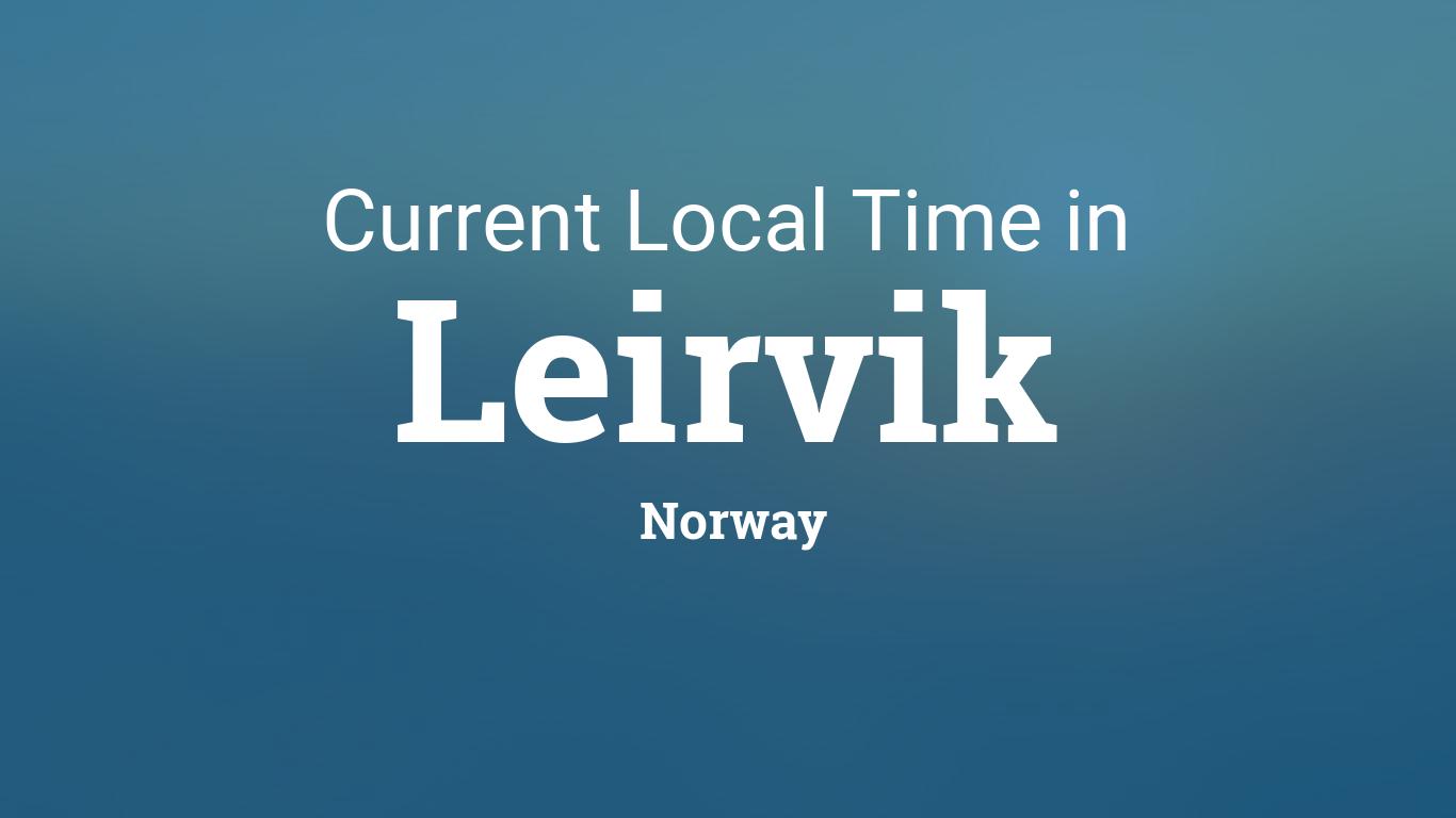 leirvik dating norway