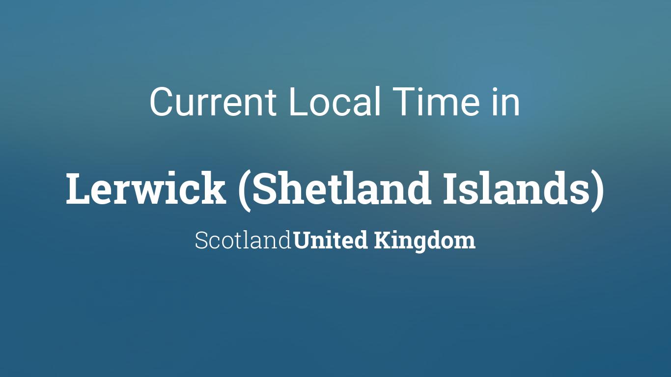Weather Forecast Shetland Islands