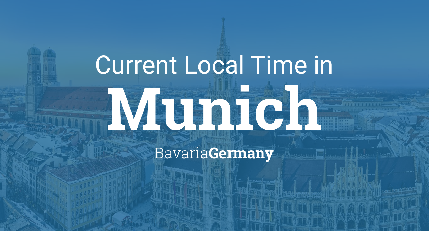 Calendar Planner Php : Current local time in munich bavaria germany