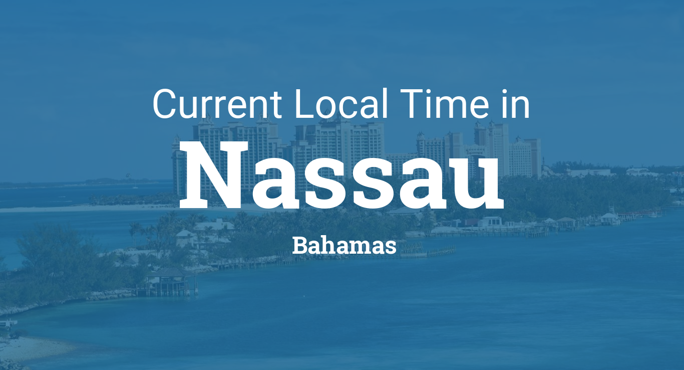 Current Local Time In Nassau Bahamas - Bahamas country political map