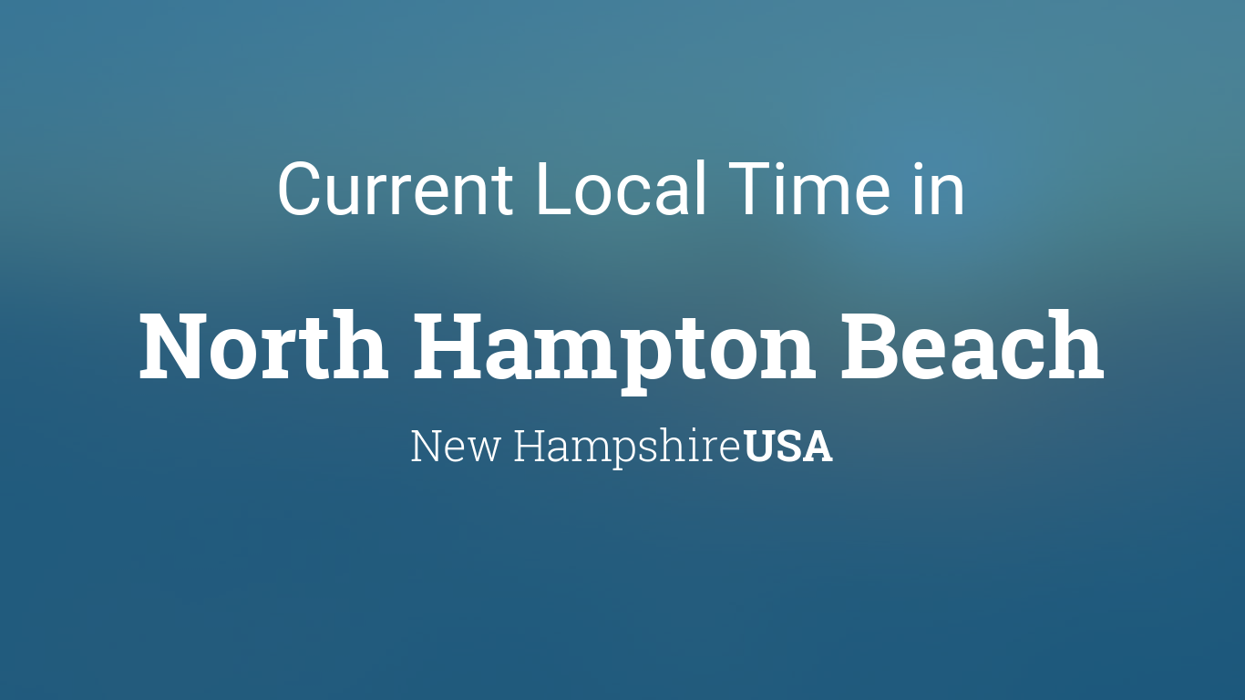 Tide chart hampton nh choice image chart design ideas current local time in north hampton beach new hampshire usa geenschuldenfo choice image nvjuhfo Images