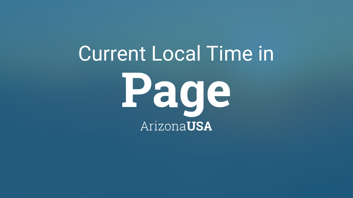 what time is it now in arizona usa