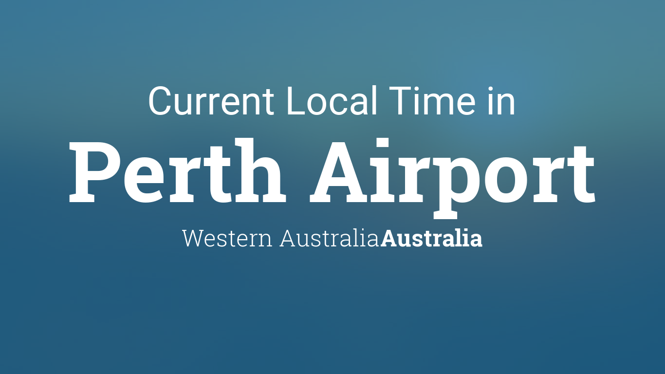 current time perth