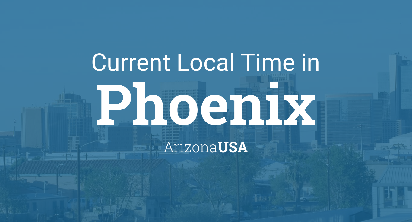 Current Local Time In Phoenix Arizona USA - Show me a map of united states time zones